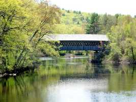 Explore some of the stunning covered bridges the state has to offer.