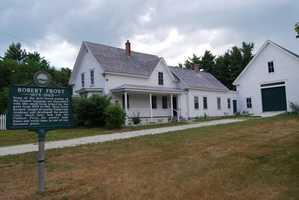 Tour Robert Frost's historic farm home.