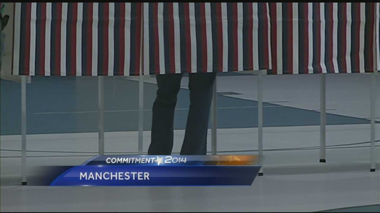 New Hampshire voters head to the polls today to cast their ballots in the 2014 GOP primary elections. After campaigning for several months, the candidates are making their final pitches for votes.