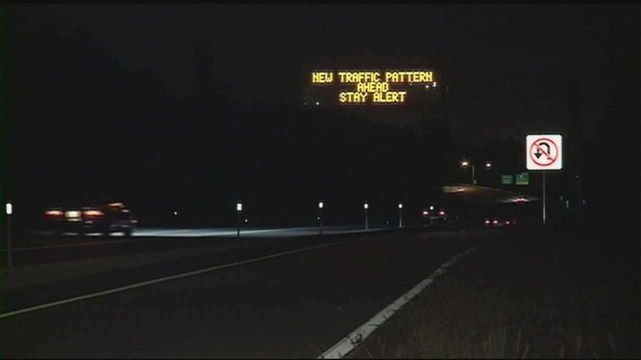 A new three-lane section of I-93 south near Windham is opening. WMUR's Jean Mackin reports.