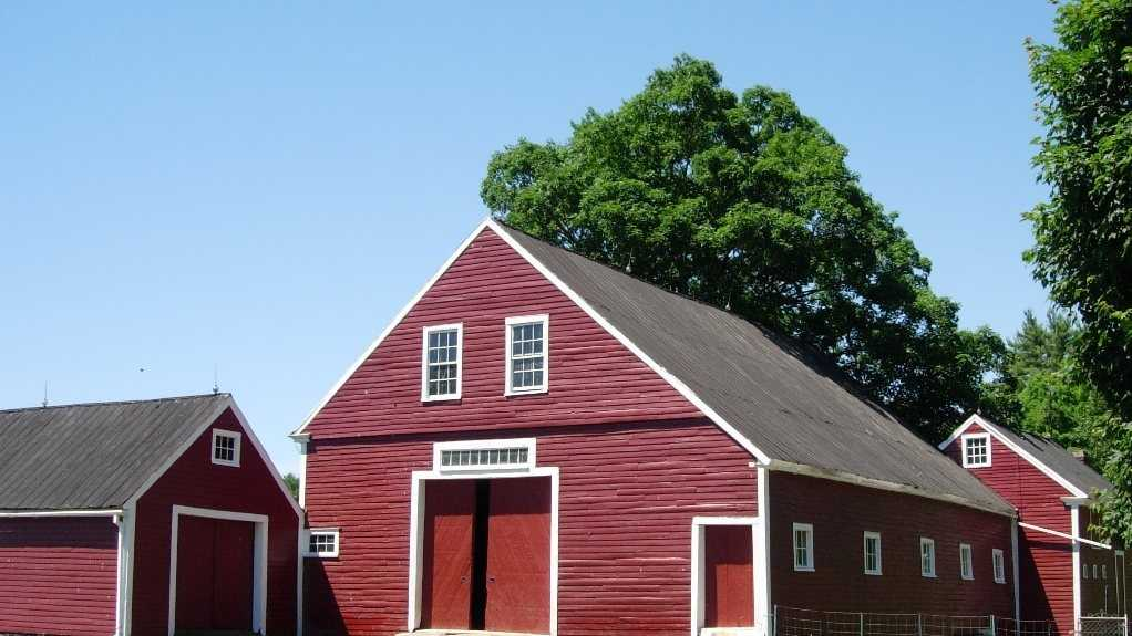 These three adjoining barns on the tour help tell the story of their importance to the viability of a 19th century family farm in a small New England town.