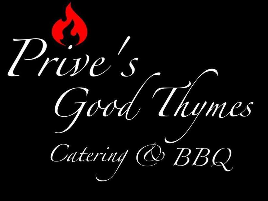 7 tie. Prive's Good Thymes Catering & BBQ in Goffstown