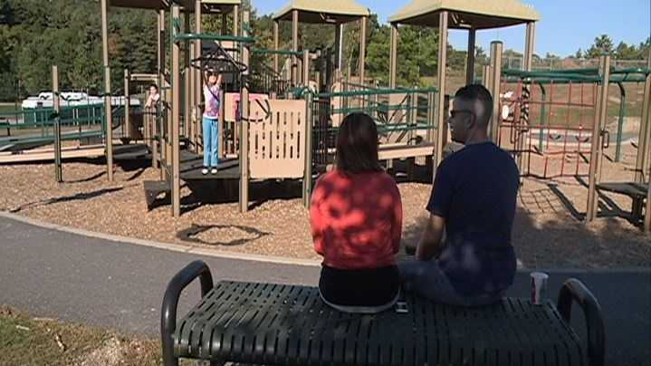 NH families enjoyed the warm weather Saturday.