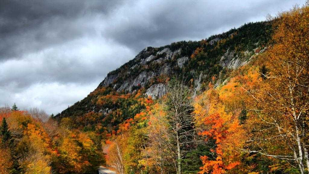 Grafton Notch in the White Mountain National Forest