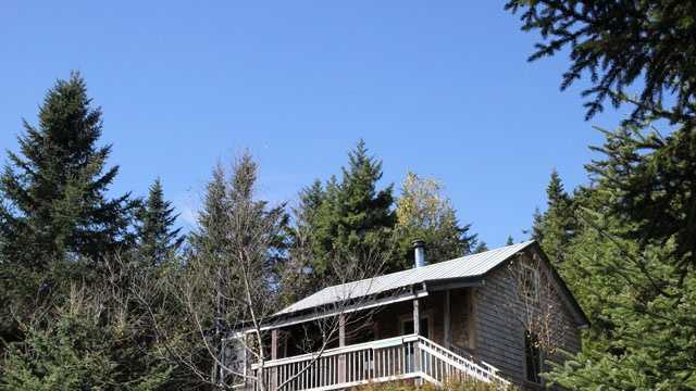 Looking for a mountain cabin deep in the woods, amidst gorgeous fall foliage? Take a tour of High Cabin.