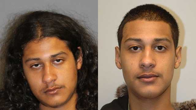 Fernando Anton, 23, seen in a more recent photo (left) and one from 2011 (right). Nashua police believe he has short hair at this time.