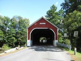 Sawyer's Crossing in Swanzey, N.H.The current bridge was constructed in 1859. The original bridge at this site was known as the Cresson bridge.