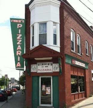 14 tie. Vinnie's Pizzaria in Concord