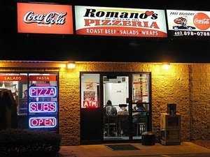 10 tie. Romano's Pizzeria in Salem