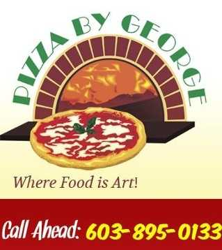 7. Pizza by George in Raymond