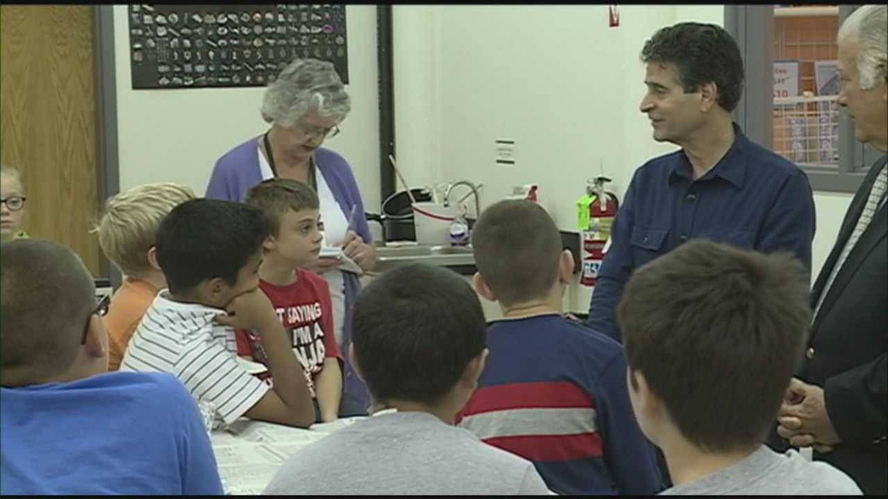 This year, every fourth grade class in the Queen City will visit the See Science Center as part of an educational program called STEAM ahead, which is funded by inventor Dean Kamen.