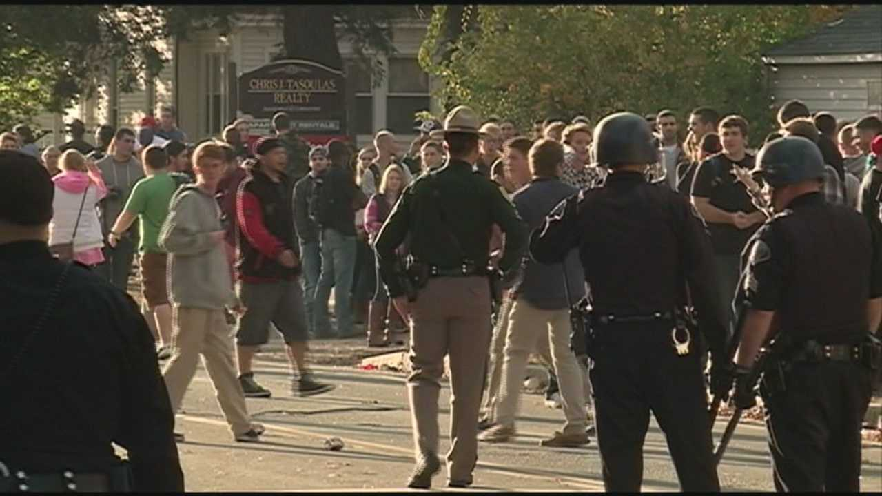 City leaders in Keene plan to hold a news conference on Monday following a weekend of chaos.