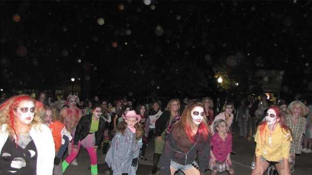 ZOMBIE WALK, Rochester Main Street, Friday, Oct. 24, 7 p.m. Free. Pictured is the walk from 2011.