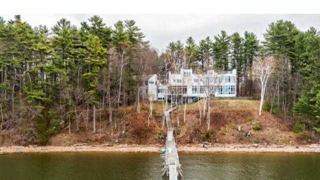 This Newington home on Fox Point Road is listed at $3 million.