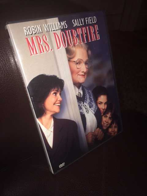 My favorite movie is Mrs. Doubtfire.