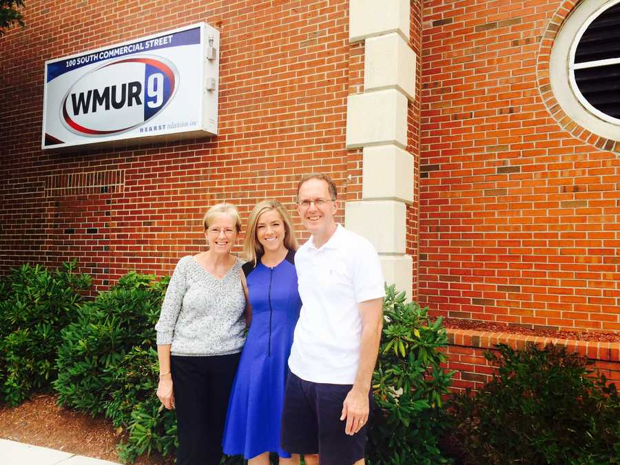 The biggest influence in my life has been my parents. I am where I am today because of them. Anything I have ever wanted in life they have been there for me to help me along the way. I recently had a chance to show them around WMUR News 9, which was a very special moment for me!