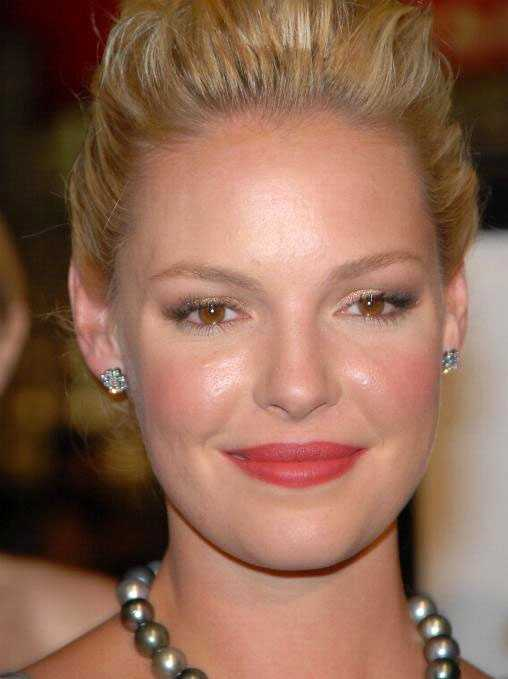 In a movie about my life, Katherine Heigl would play me. Some have said they think there's a resemblance and I'm taking it! She's gorgeous!