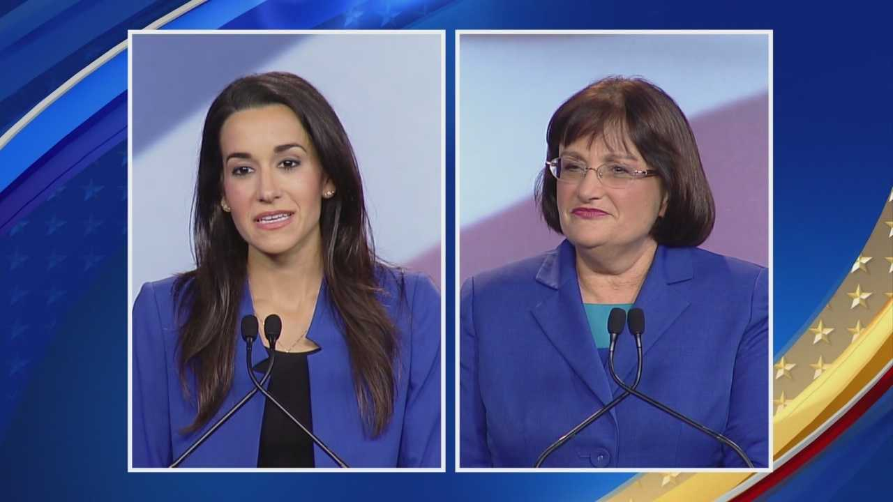 The candidates in the 2nd Congressional District discuss whether there has been a lack of a large number of public forums, meetings or debates in the race.