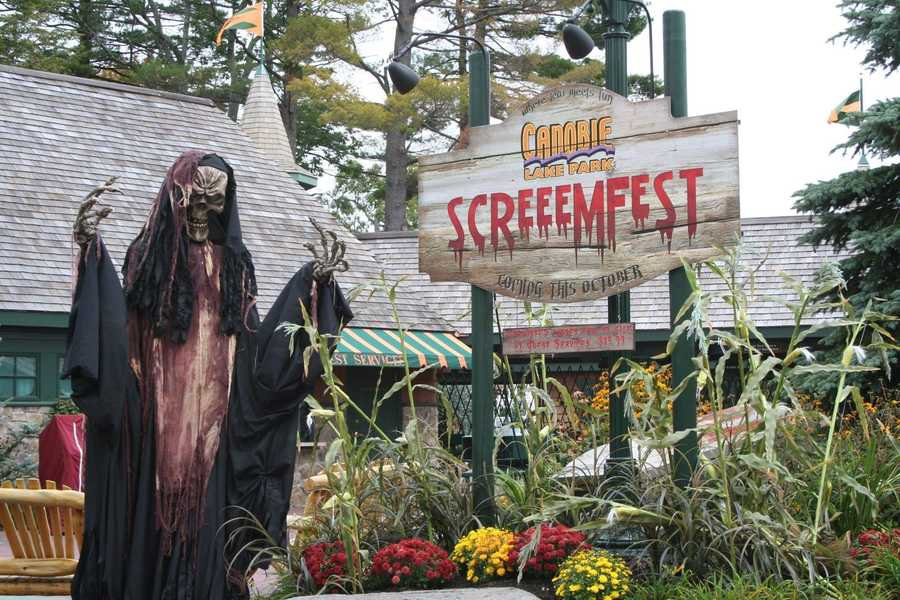 5. Canobie Lake Park presents Screemfest in Salem, New Hampshire
