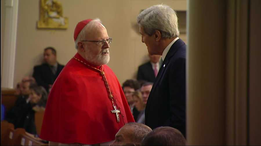 Cardinal O'Malley and Kerry