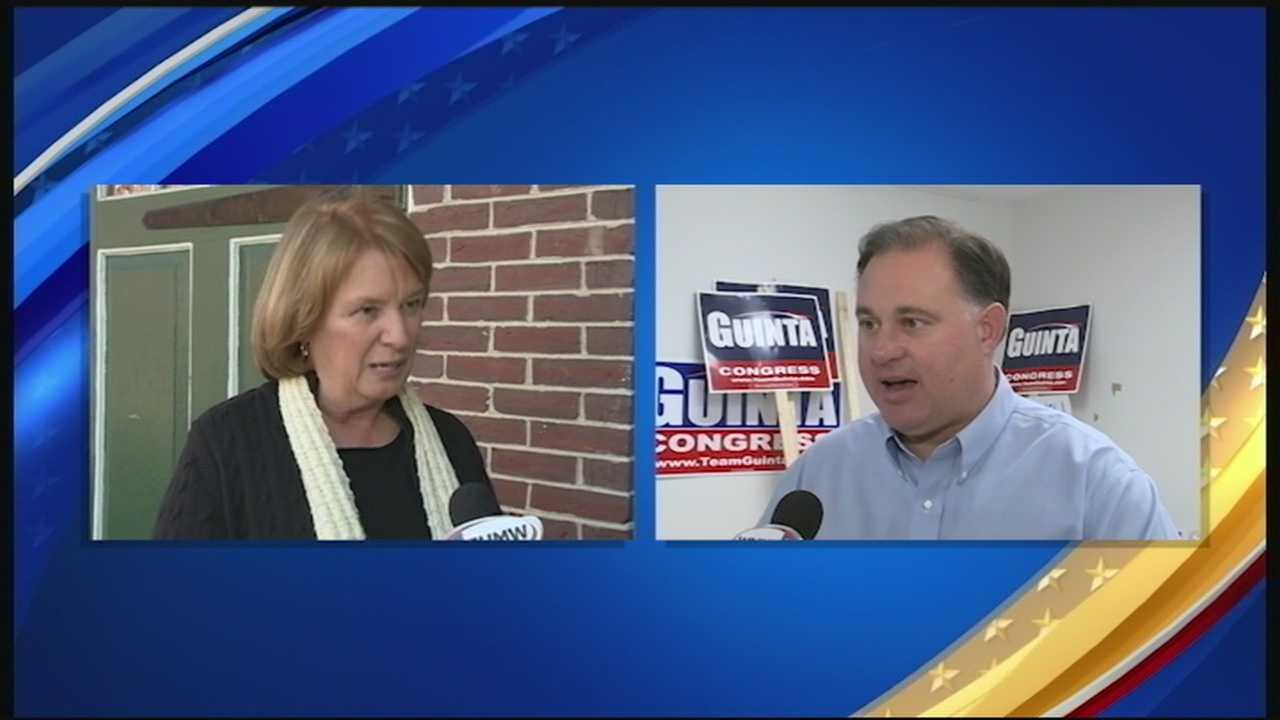 Candidates running in NH's 1st congressional district hit the ground running on the last day of campaigning. Heather Hamel reports.