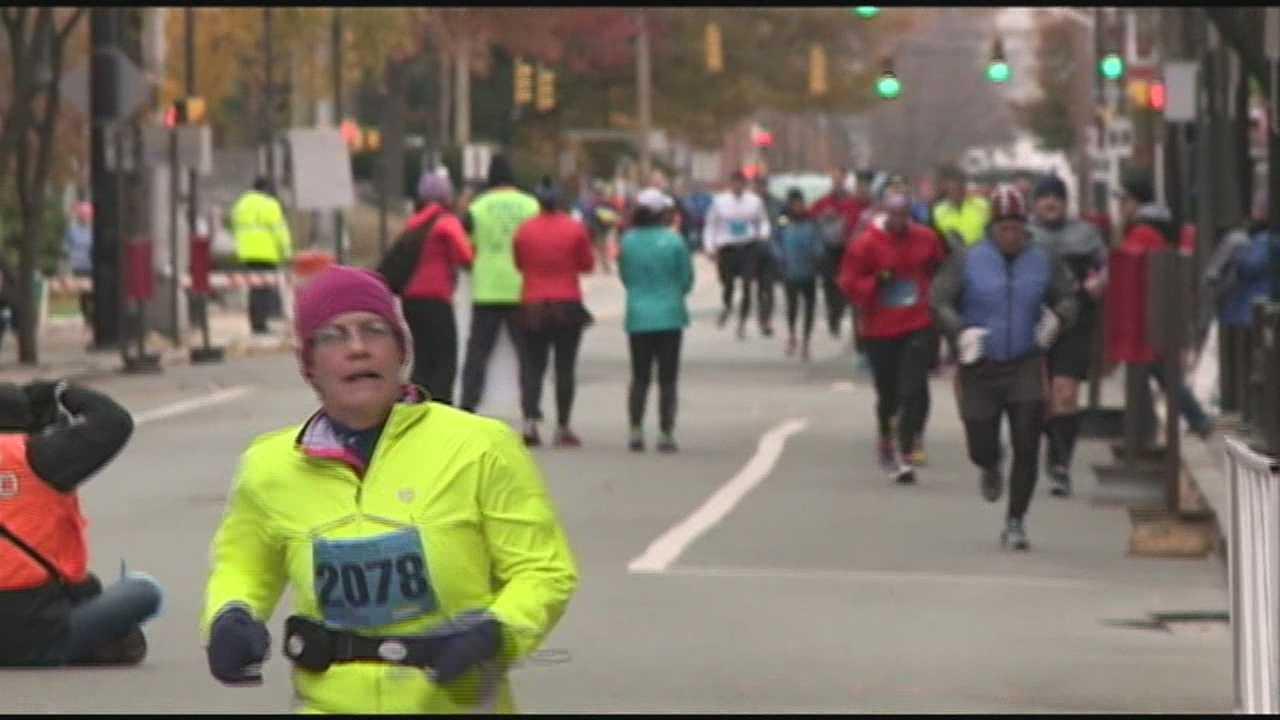 Marathon mishap in Manchester