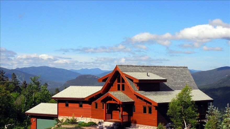 You don't have to dream about having a magnificent mountaintop estate with panoramic views of the Presidentials.