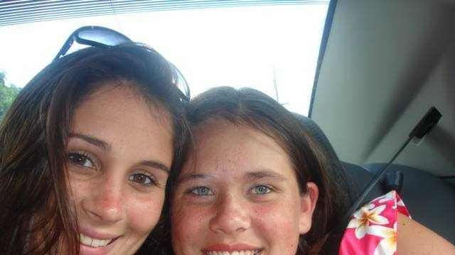 Memorial for Courtney Griffin (on left) being held at 2 p.m. Saturday on Kingston Plains.