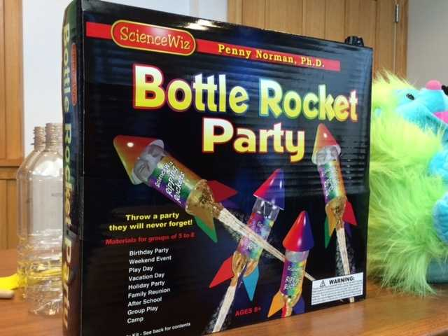 Bottle Rocket Party -- Potential for eye, face, and other impact injuries