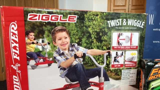 Radio Flyer Ziggle -- Potential for forehead and other impact injuries