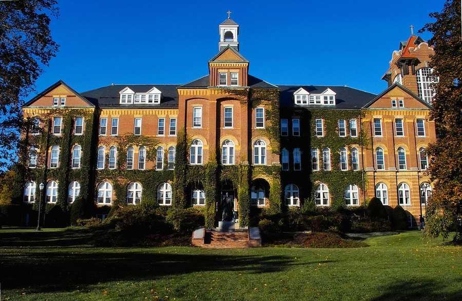 Saint Anselm College, Manchester, NHAverage Debt of 2013 Graduates: $42,196