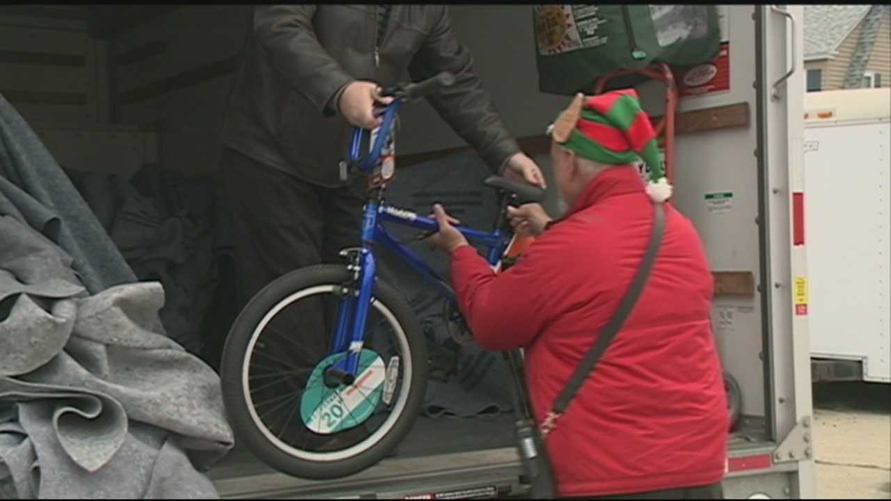 Donations are rolling into the Salvation Army in Nashua after Right Networks in Hudson donated dozens of bicycles to the Greater Nashua Santa Fund.