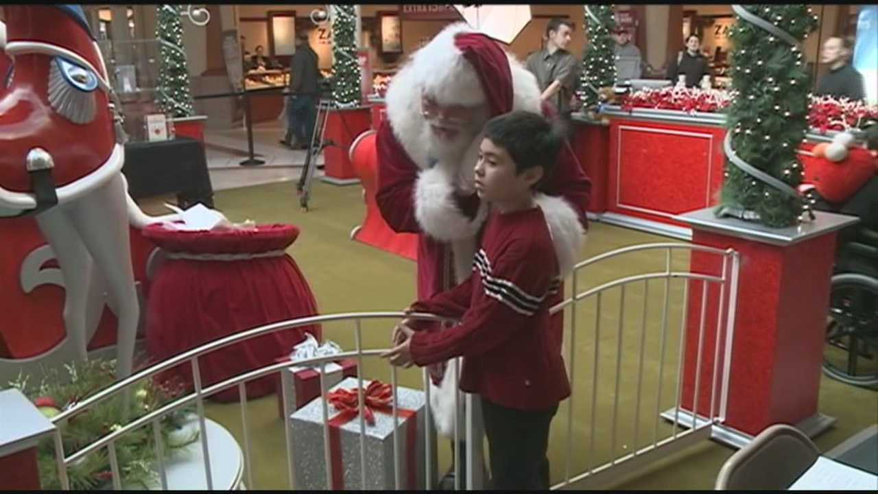 For any family the holidays can be a stressful time of year. For families dealing with autism even a simple trip to see Santa Claus can be out of reach. The Mall of New Hampshire teamed up with Autism Speaks Sunday morning to provide a solution to the problem.