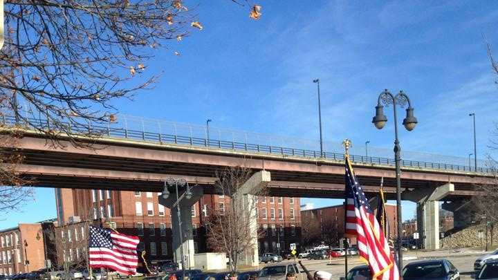 Veterans held a ceremony in Manchester Sunday morning to honor the lives lost in the deadly attack on Pearl Harbor.