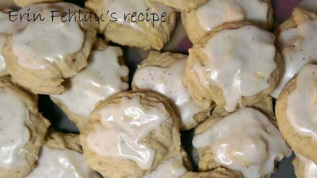 Erin Fehlau likes to bake eggnog cookies. View the recipehere.