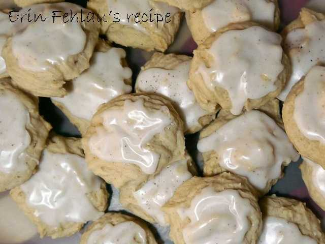 Erin Fehlau likes to bake eggnog cookies. View the recipe here.