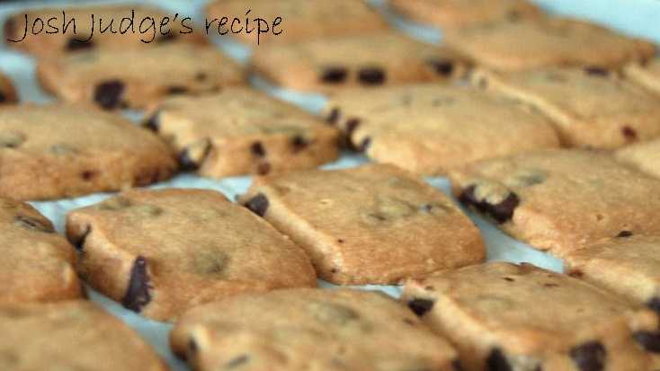 Josh Judge likes to bake chocolate chip cream cheese squares. View the recipe here.