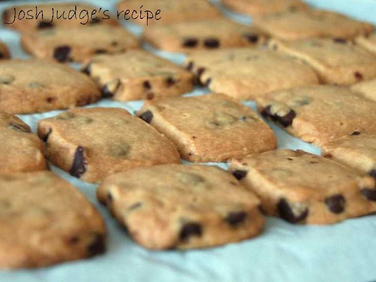Josh Judge likes to bake chocolate chip cream cheese squares. View the recipe here.