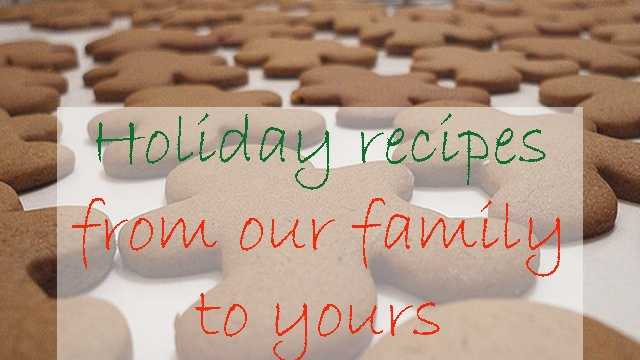 Members of the News 9 family share some of their favorite holiday recipes.