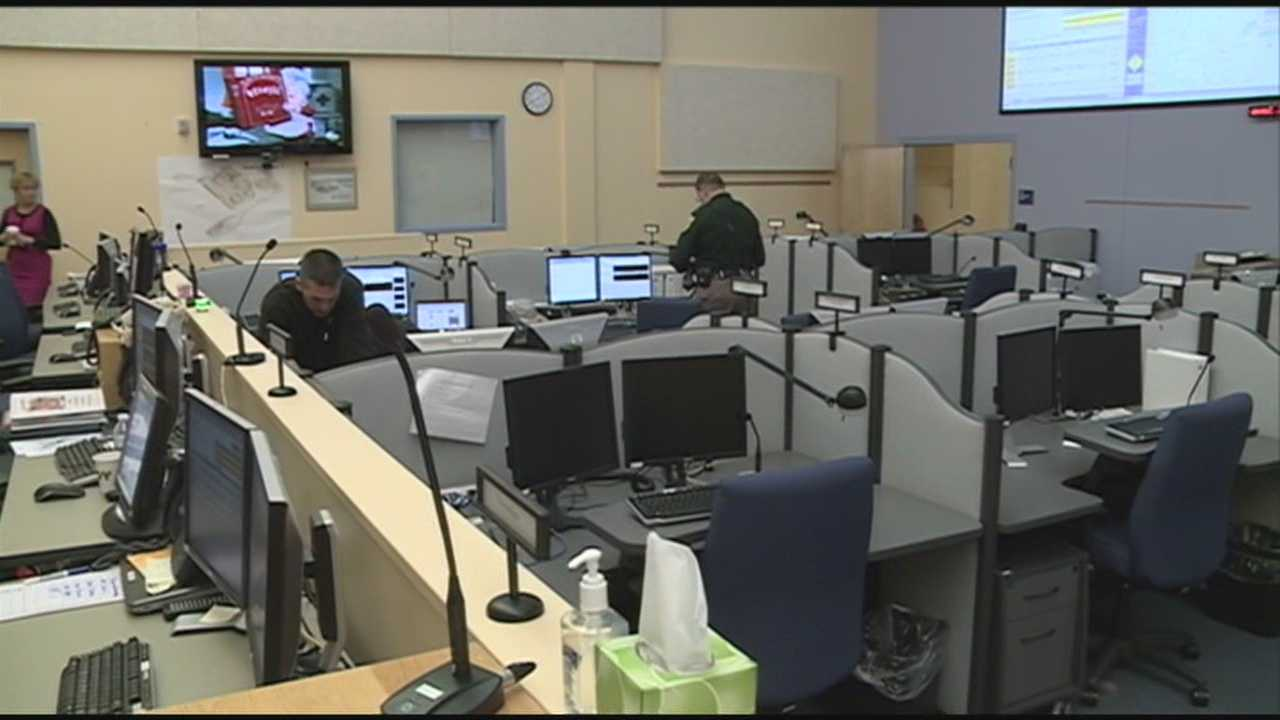 Black ice made driving and even walking treacherous, but officials who opened the Emergency Operations Center in Concord at 4 p.m. said they are focused on power outages. WMUR's Amy Coveno reports.