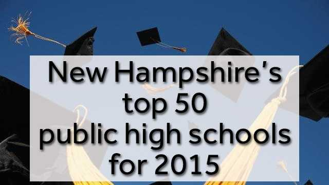 The organizationNichehas released its rankings of the top public high schools across the country, including New Hampshire. Niche looked at factors including, academics, health and safety, diversity, resources, extracurriculars, sports and more. Check out the top 50 in our state.