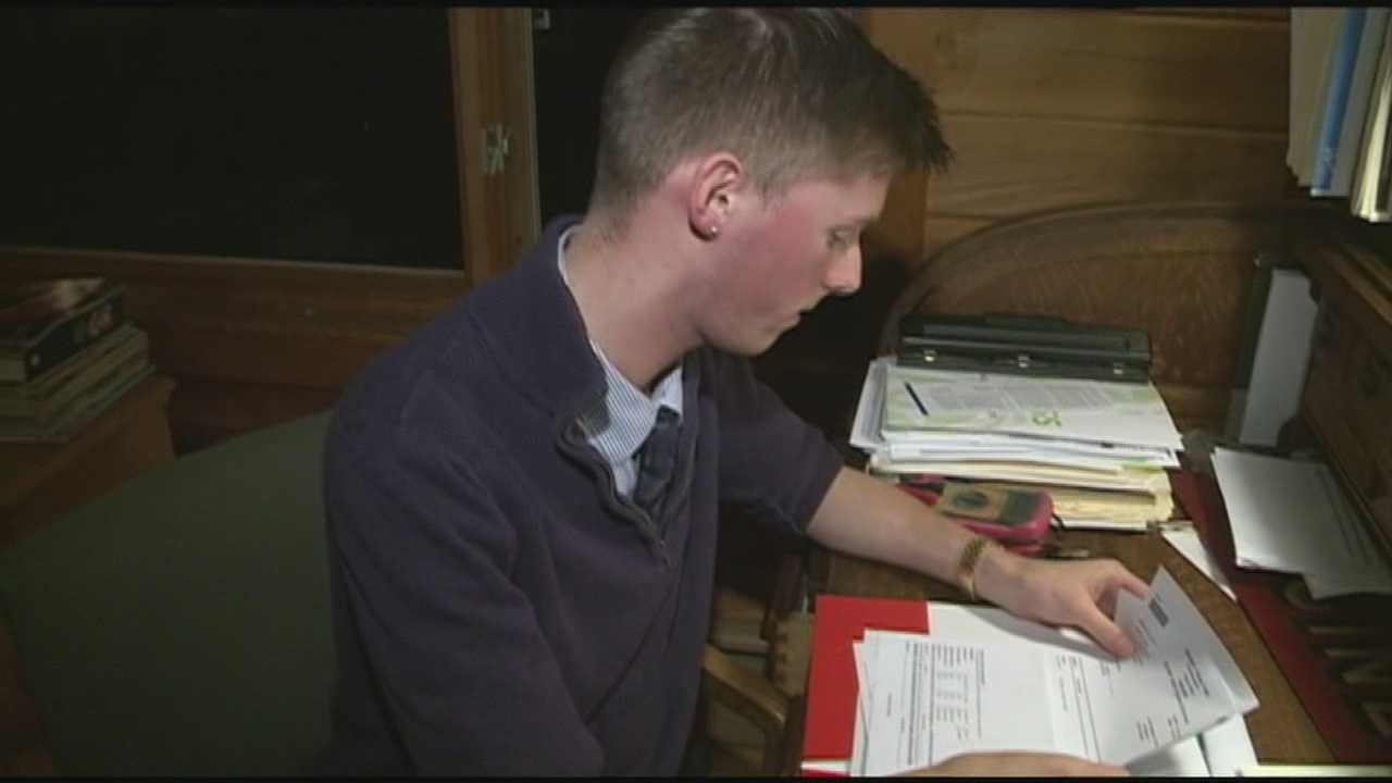This holiday season, a 20-year-old from Henniker is preparing to make a generous donation in the hopes of saving someone's life. WMUR's Shelley Walcott reports.