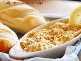 Andy Hershberger likes to make a hot crab dip. View his family recipe here.