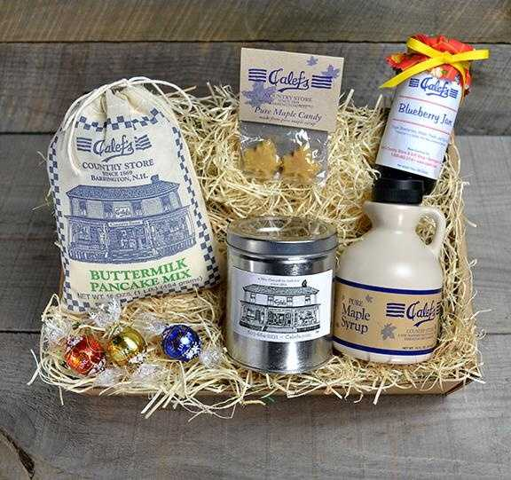 A gift basket from Calef's Country Store in Barrington