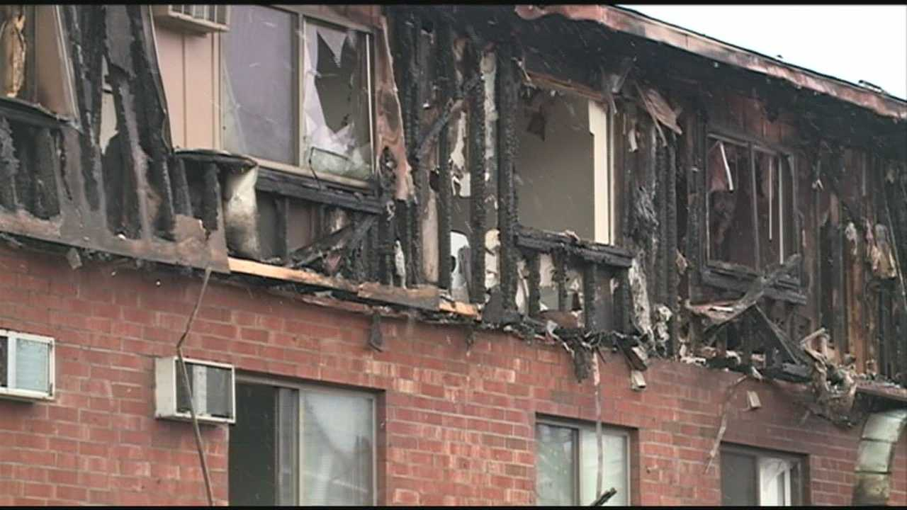 Fifty people are homeless following a fire in Manchester early Sunday morning.