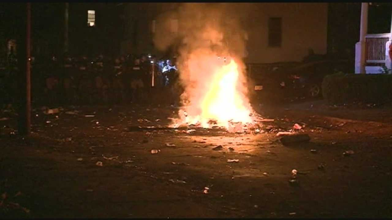 Riots erupted near the Keene State College campus on the weekend of the city's annual Pumpkin Festival. Police used photos posted on social media to identify and arrest approximately 100 people.Read more: http://www.wmur.com/news/keene-police-release-photos-in-hopes-of-identifying-rioters/29274370