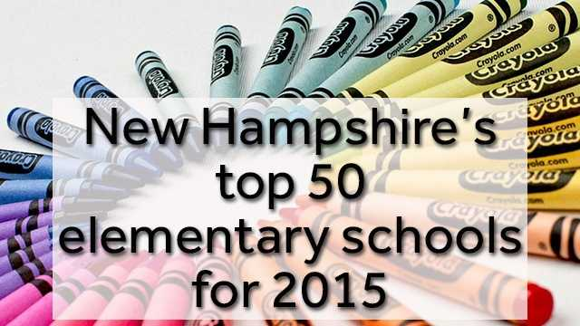 The organization Niche ranked New Hampshire's top elementary schools, based on their academics, teachers, diversity and the school district. Take a look at the top 50 schools...