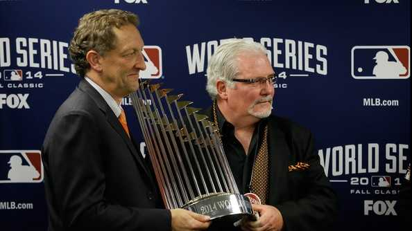 When looking back on New Hampshire top sports stories of 2014, nothing matches the MLB dynasty sealed by Brian Sabean's San Francisco Giants.