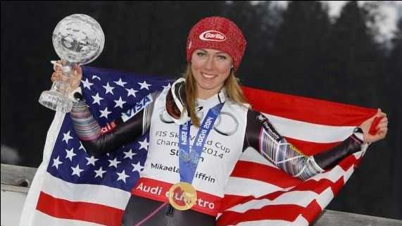 The 19-year-old Mikaela Shiffrin became the youngest slalom champion in Olympic history with a golden run at Sochi.