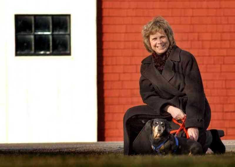 Assistant U.S. Attorney Nadine Pellegrini:  Longtime federal prosecutor, former head of the major crimes unit in Boston.  Pellegrini (with her mini dachshund, Sandy) is getting a master's degree in animals and public policy at the Cummings School of Veterinary Medicine at Tufts University, Grafton.